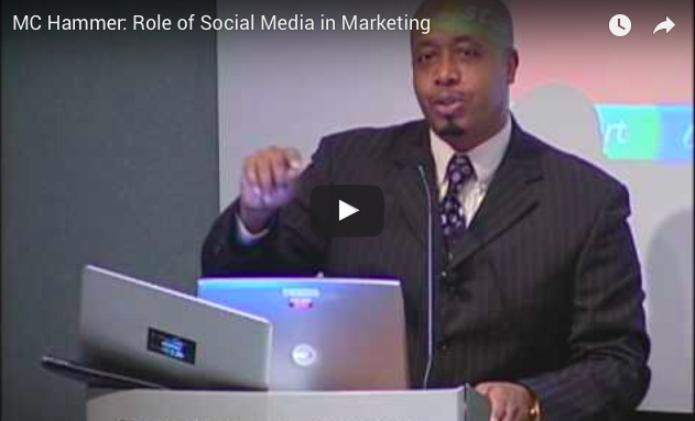 Video: MC Hammer on Social Media