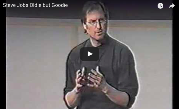 Video: Steve Jobs on Apple and Value, in 1997